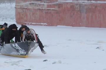 banniere Canoe sur glace- Capture d'ecran Louis Philippe Boulianne _