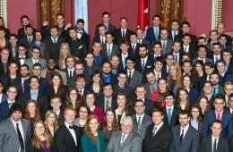 banniere Parlement etudiant du Quebec - Courtoisie Rainville Photographe