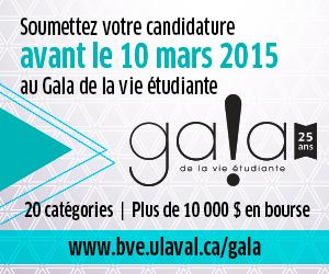 gala de la vie étudiante 2015