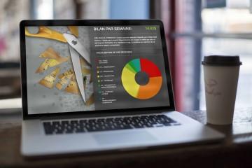 Fais ton budget - Site web faistonbudget.ca - Montage - Nichlas W. Andersen et Pierre Fortier