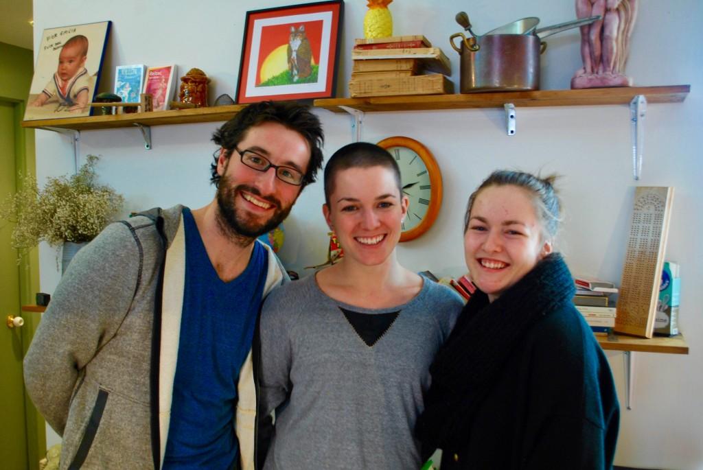 Étienne Lambert, Geneviève Robitaille et Andrée-Anne Marquis - Photo : Cecilia Foissard