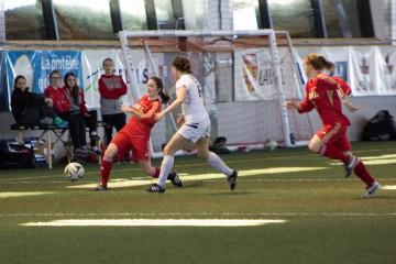 Soccer féminin - Photo : Danika Valade