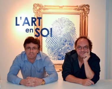 Simon Grondin et Dany Quine - Courtoisie L'Art en soi