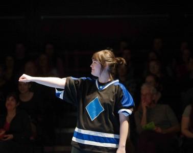 LUI Théâtre d'improvisation  UL Crédit Alice Chiche 31 mars 2015