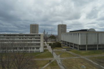 Le campus de l'Université Laval. Photo : Amaury Paul