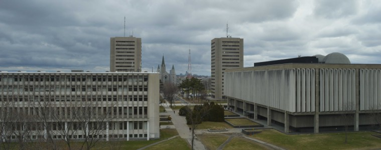 Le campus de l'Université Laval. Photo : Amaury Paul