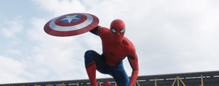 Spiderman fait une apparition dans le dernier Captain America. Photo : courtoisie
