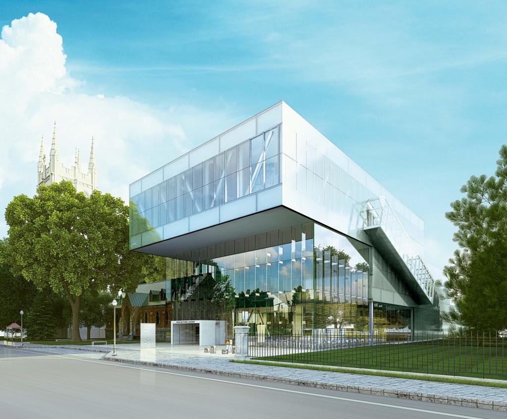Musée - Pavillon Pierre Lassonde - Photo courtoisie OMA Jean-Guy Kérouac